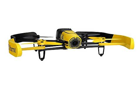 image of Parrot Bebop Quadricopter Drone - Yellow