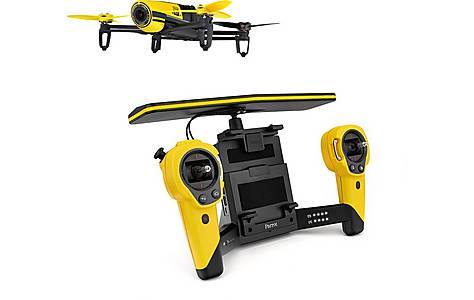 image of Parrot Bebop Quadricopter Drone Plus Skycontroller - Yellow