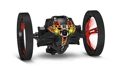 image of Parrot Minidrone Jumping Sumo insectoid Robot - Black