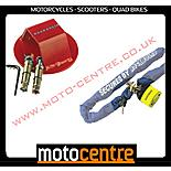 New Rock Solid 1.2m Lock Chain & Ground Anchor Motorcycle Scooter Or Quad Bike