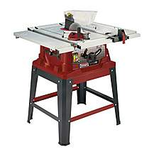 "image of Lumberjack Ts254se 254mm/10"""" 1500w Table Saw With Extending Table And Legstand 230v"