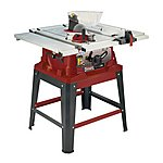 """image of Lumberjack Ts254se 254mm/10"""""""" 1500w Table Saw With Extending Table And Legstand 230v"""
