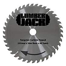image of Lumberjack Ljcc25560 255mm 60 Tooth Circular Saw Blade