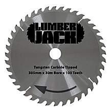 image of Lumberjack Ljcc305100 305mm 100 Tooth Circular Saw Blade