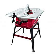 """image of Lumberjack Ts254els+stand 10""""""""/254mm 1500w Table Saw With Side Extensions And Legstand 230v"""