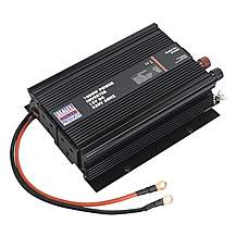 image of Sealey Pi1000 1000w Power Inverter 12v Dc - 230v 50hz