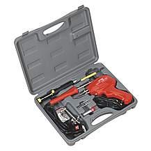 image of Sealey Sd300k Soldering Gun/iron Kit 8pc 230v