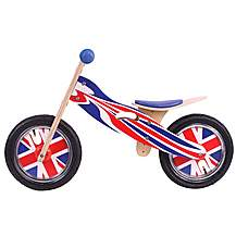 image of Kidzmotion pride Wooden Balance Bike / First Bike / Running Bike
