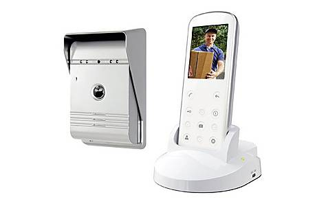 image of Wireless Video Door Phone With Night Vision Function And Image Capture, Wireless Range Up To 175 M Vd36w
