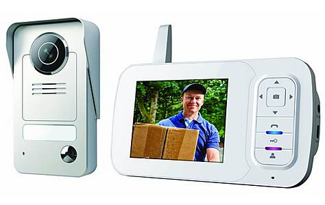 image of Wireless Video Door Phone With Night Vision Function And Image Capture, Wireless Range Up To 175 M Vd38w