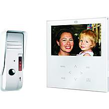 image of Video Door Intercom With A Flat Touch Screen Panel, Color Screen