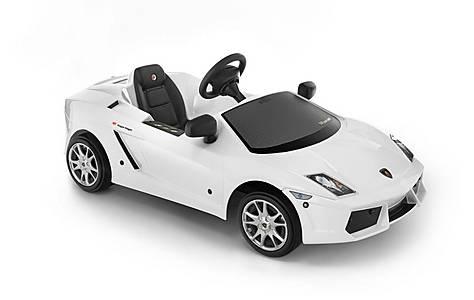 image of Lamborghini Gallardo White Pedal Car