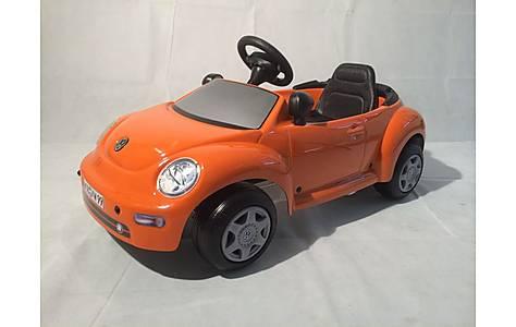 image of Vw New Beetle Orange Pedal Car