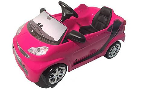 image of Smart Fortwo Fuxia Pedal Car
