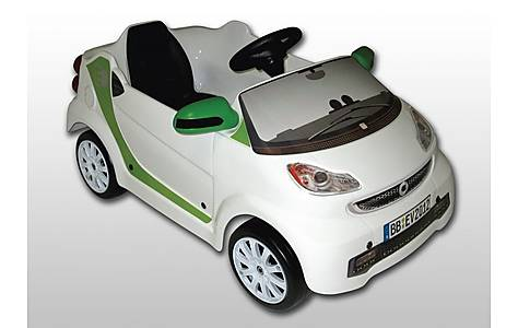 image of Smart Fortwo Eco White El. 6v Car