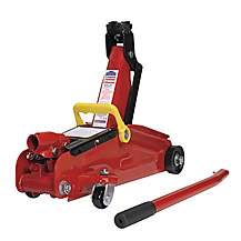 image of Sealey 1050cx Trolley Jack 2tonne Short Chassis