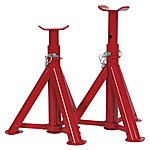 image of Sealey As2000f Axle Stands (pair) 2tonne Capacity Per Stand Tuv/gs Folding Type