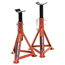 image of Sealey As2500 Axle Stands (pair) 2.5tonne Capacity Per Stand