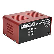 image of Sealey Autocharge4 Battery Charger Electronic 4amp 12v 230v