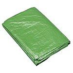 image of Sealey Tarp1216g Tarpaulin 3.66m x 4.88m Green