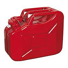 image of Sealey Jc10 Jerry Can 10ltr - Red