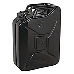 image of Sealey Jc20b Jerry Can 20ltr - Black