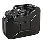 image of Sealey Jc10b Jerry Can 10ltr - Black