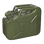 image of Sealey Jc10g Jerry Can 10ltr Green