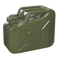 Sealey Jc10g Jerry Can 10ltr Green