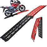 image of 5144 - Black Pro Range B5144 Aluminium Folding Motorcycle Loading Ramp