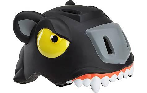 image of Childrens Kids Cycle Bike Helmet Black Panther S/m (49-55 Cm)