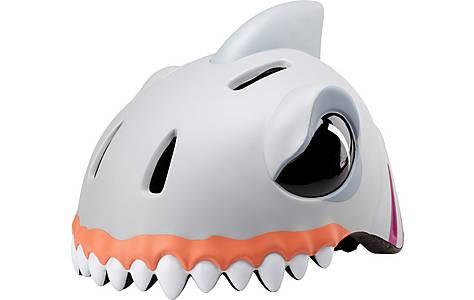 image of Childrens Kids Cycle Bike Helmet White Shark  S/m (49-55 Cm)