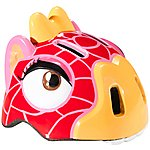 image of Childrens Kids Cycle Bike Helmet- Giraffe S/m (49-55 Cm)
