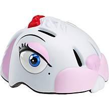 image of Childrens Kids Cycle Bike Helmet White Bunny  S/m (49-55 Cm)