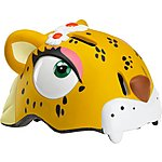 image of Childrens Kids Cycle Bike Helmet Leopard S/m (49-55 Cm)