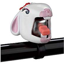 image of Kids Childs Bike Bicycle Bell White - Bunny