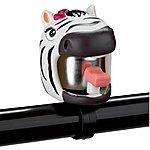 image of Kids Childs Bike Bicycle Bell - Zebra