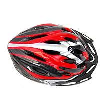 image of Coyote Sierra Adult Cycle Bike Helmet Red Medium 54-59cm