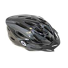 image of Coyote Sierra Adult Cycle Bike Helmet Black Medium 54-59cm