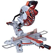 "image of Lumberjack Scms210sb 8"""" 210mm Single Bevel Compound Mitre Saw 230v"