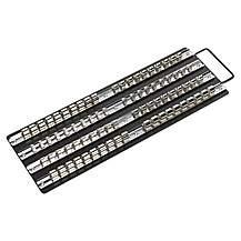 Sealey Ak271b Socket Rail Tray Black 1/4