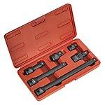 "image of Sealey Ak5514 Impact Adaptor & Extension Bar Set 6pc 1/2""""sq Drive"