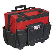 image of Sealey Ap512 Tool Storage Bag On Wheels 450mm Heavy-duty