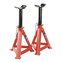 image of Sealey As10000 Axle Stands (pair) 10tonne Capacity Per Stand