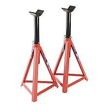 image of Sealey As3000 Axle Stands (pair) 2.5tonne Capacity Per Stand Medium Height
