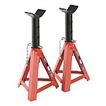 image of Sealey As5000 Axle Stands (pair) 5tonne Capacity Per Stand