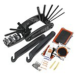 image of Sealey Bc210 Folding Multi-tool & Puncture Repair Kit - Bicycle