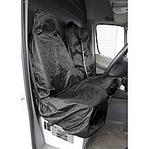 image of Sealey Csc7 Van Seat Protector Set 2pc Heavy-duty