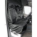 image of Sealey Csc7 Van Seat Protector Set 2pc Heavy-duty