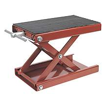 image of Sealey Mc5908 Scissor Stand For Motorcycles 450kg